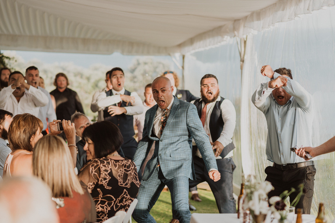 J&L Wedding Haka Videography