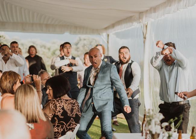J&L Wedding Haka Videography