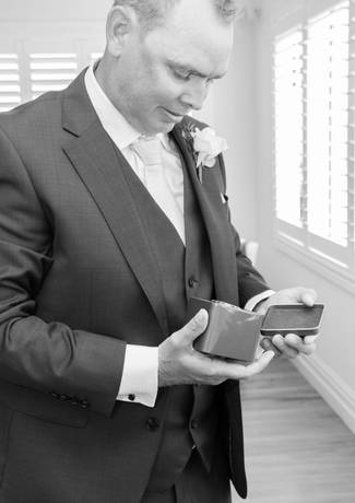 Groom With Rings