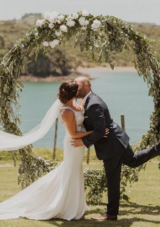 J&L Married First Kiss Video Shot