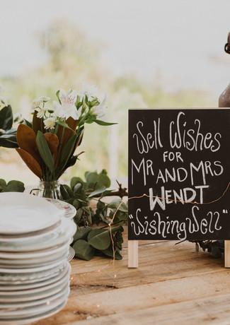 J&L Wedding Table