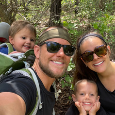 We're huge fans of family hikes.