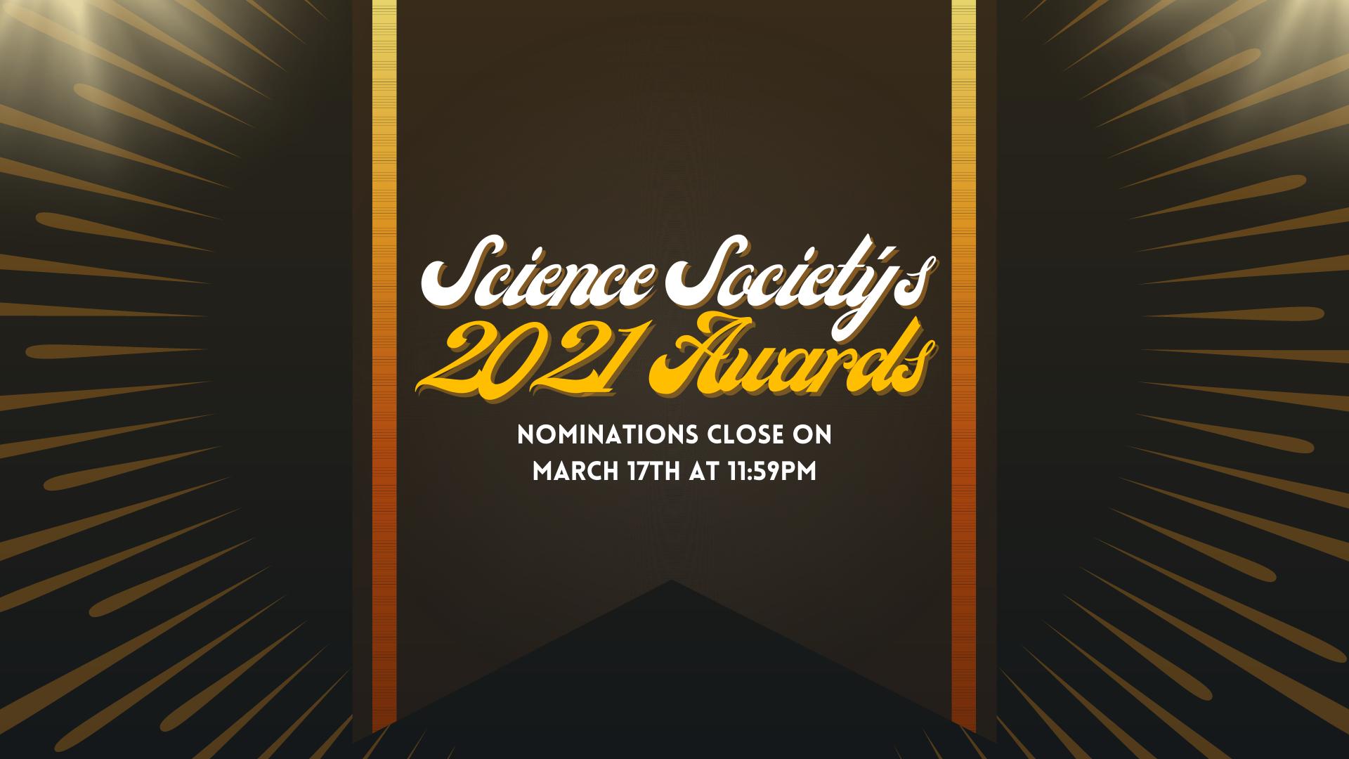 Website Banner Scisoc Awards 2021