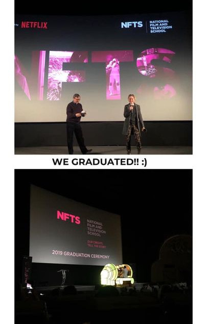 National Film and Television School - Graduation