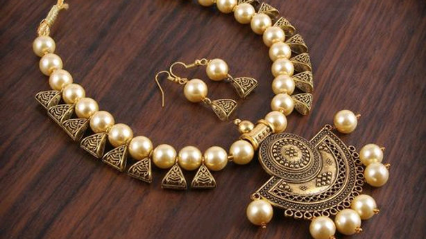 beautifull alloy neckless set for girls and women