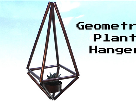 Geometric Plant Hanger