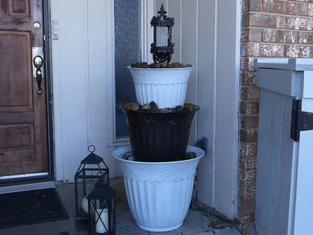 Customizable Three-Tiered Fountain