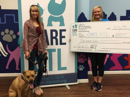 Donation to CARE STL