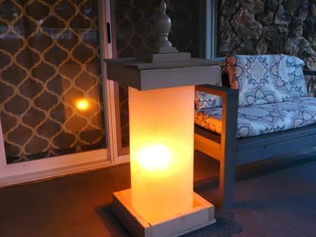 Plexiglass Lantern