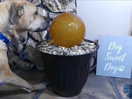 'Glass Globe Fountain' project on Tangi!