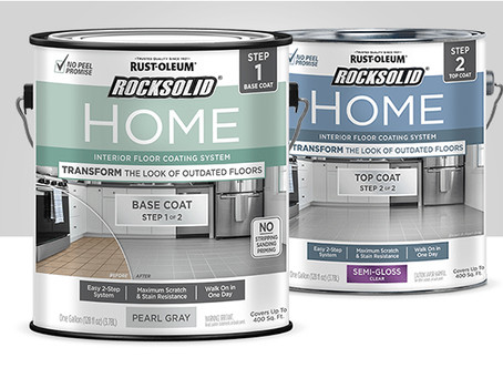 Review and Lesson Learned!  Rust-Oleum RockSolid Home Floor Paint System