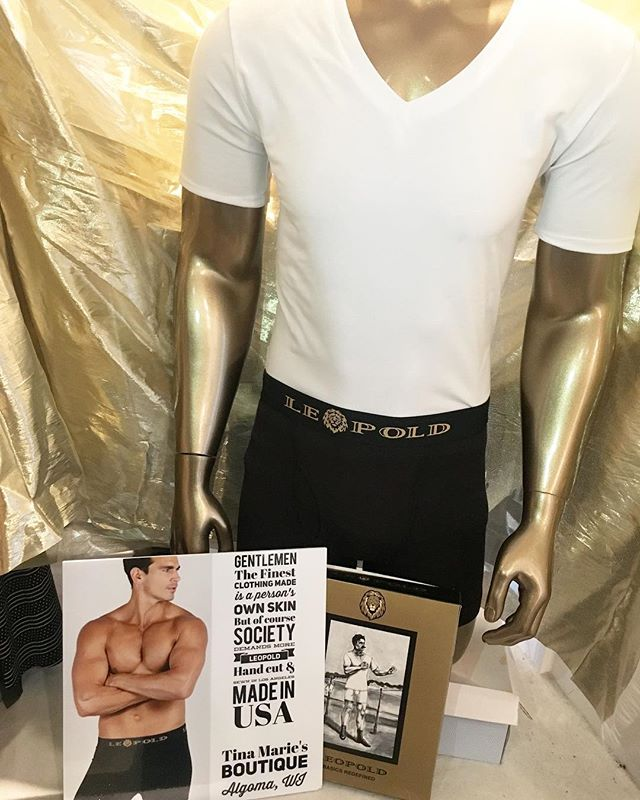 We cary menswear too! Come in and check