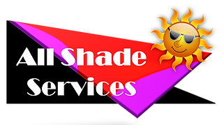 Shade sails, awnings, umbrellas, blinds, Structures