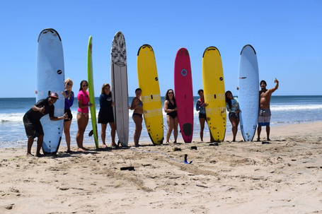 Beach Society surf day
