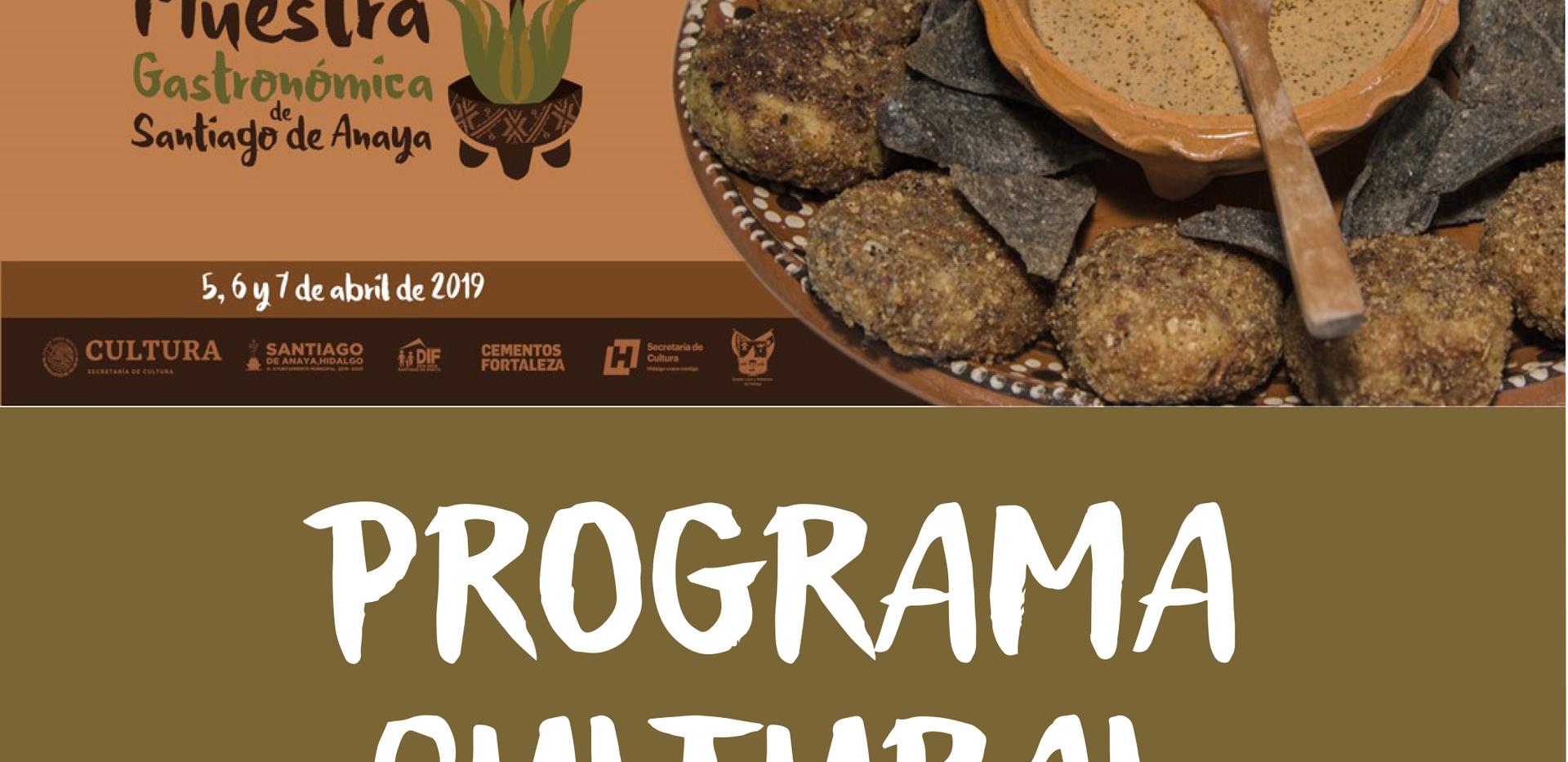 programa cultural 1