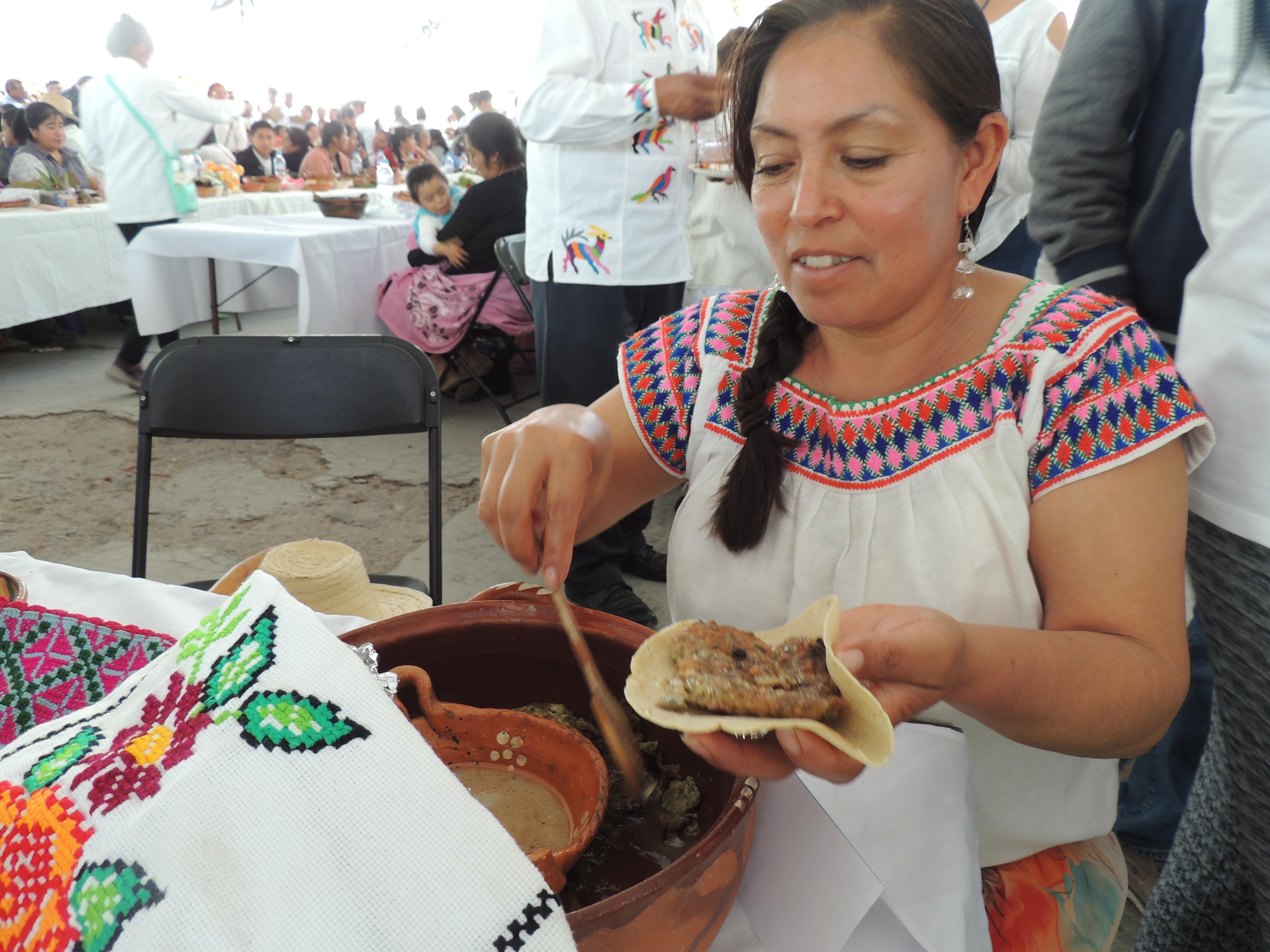 Cocinera tradicional