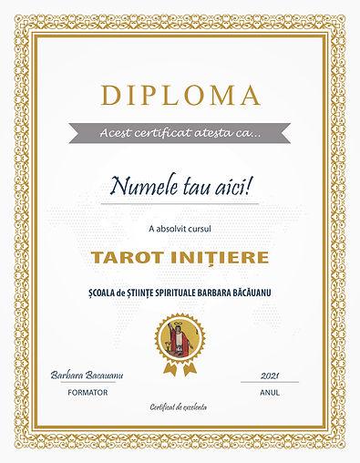 Curs Tarot Diploma