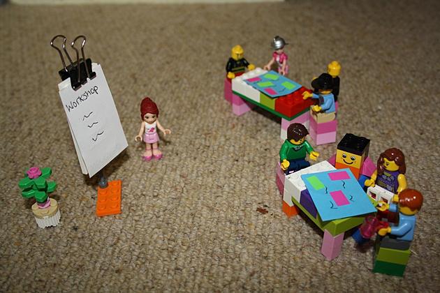 A facilitated workshop in LEGO