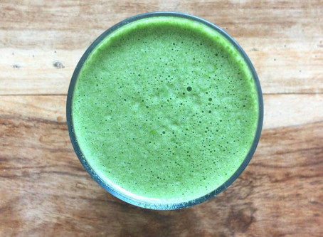 The Glowing Green Skin Smoothie