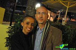 Marco Padilha e Pamela Abreu