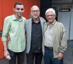 Marco Padilha e amigos no RJ