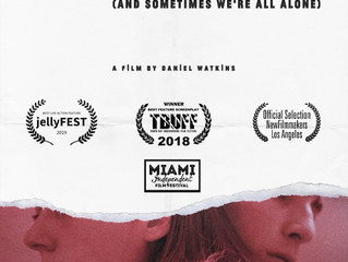 """Sometimes Our Friends Come Over,"" won at Jelly Film Fest!"