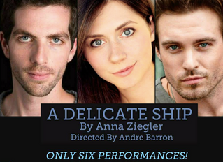 Alternate Cast of A Delicate Ship, by Ovation Winning Playwright Anna Ziegler