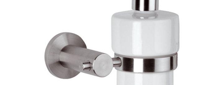 מתקן לשמפו או סבון | סדרת מינימל אינוקס