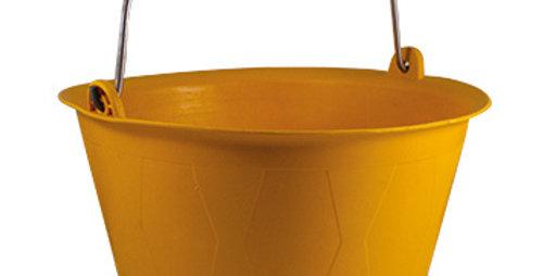 דלי עבודה בסיסי 14 ליטר | צהוב