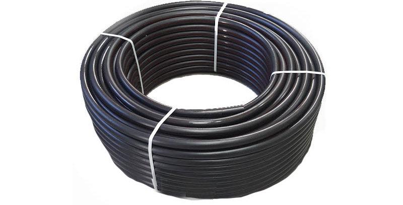 """צינור חשמל שחור 20 מ""""מ - 1 מ""""א"""