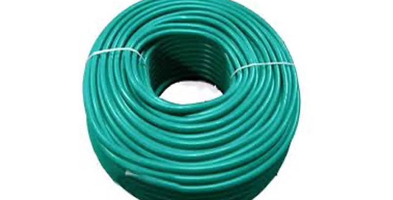 """צינור חשמל ירוק 20 מ""""מ - 100 מ""""א"""