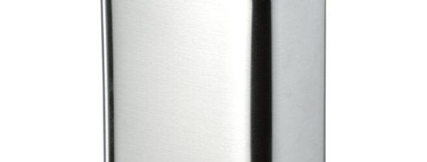 פח נירוסטה מרובע למקלחת- 5 ליטר