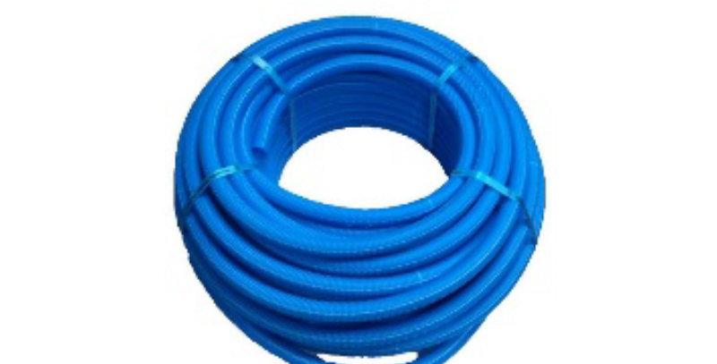 """צינור פקס 16 כחול- 1 מ""""א"""