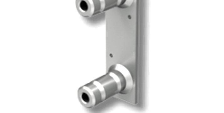 FT 50202 A | פלטה למערכת מעקה בטיחות זמני