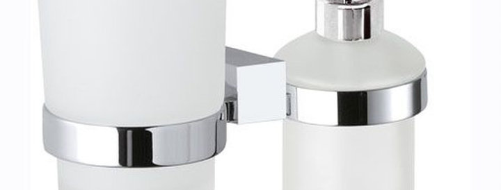 מתקן לסבון ומברשת שיניים | סדרת אס.קיו