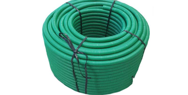"""צינור שרשורי ירוק - 100 מ""""א"""