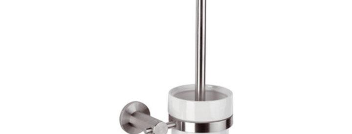 מתקן תלוי למברשת אסלה | סדרת מינימל אינוקס