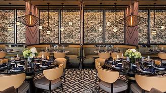 Photo d'un restaurant vu intérieur.
