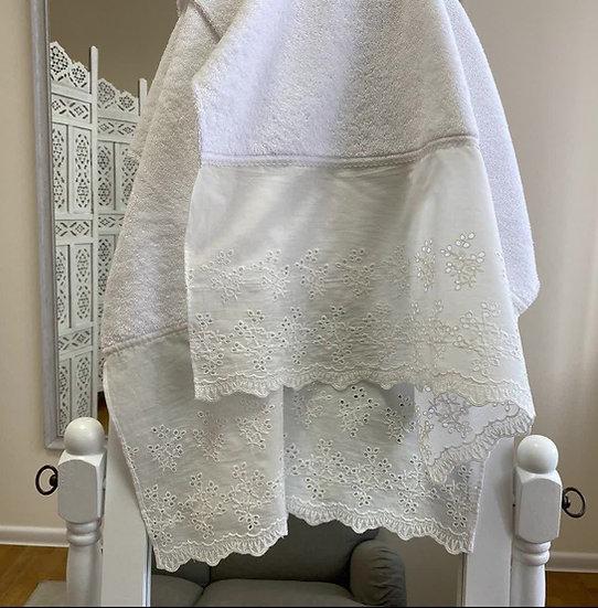 Махровое полотенце для крещения Славянское