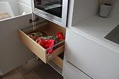 gaveta interior de madera linea 3 cocina