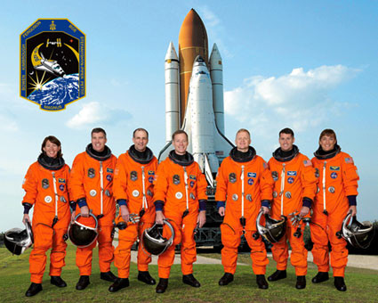Space Shuttle, astronauts, boosters, space flight