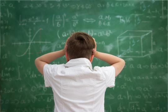 Math Anxiety, geometry is hard