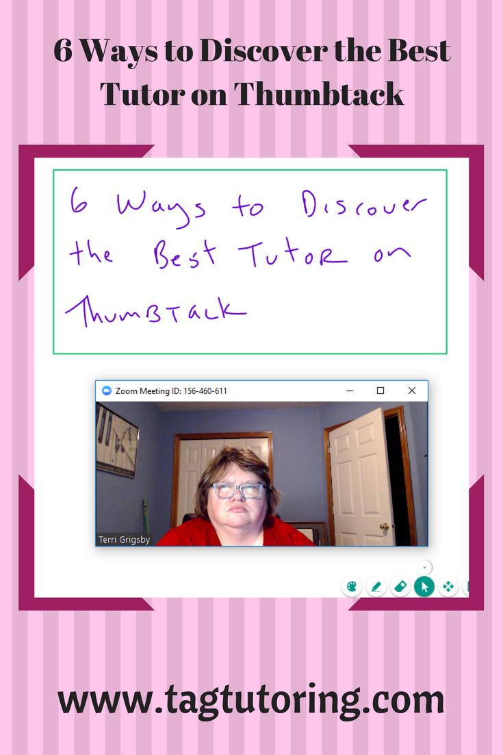 Thumbtack, math tutors 6 ways