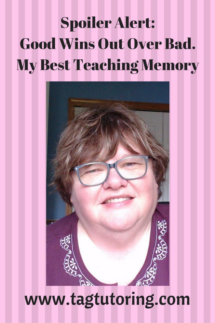 Gratitude, Best teaching memory, Online Math Tutuor, www.tagtutoring.com