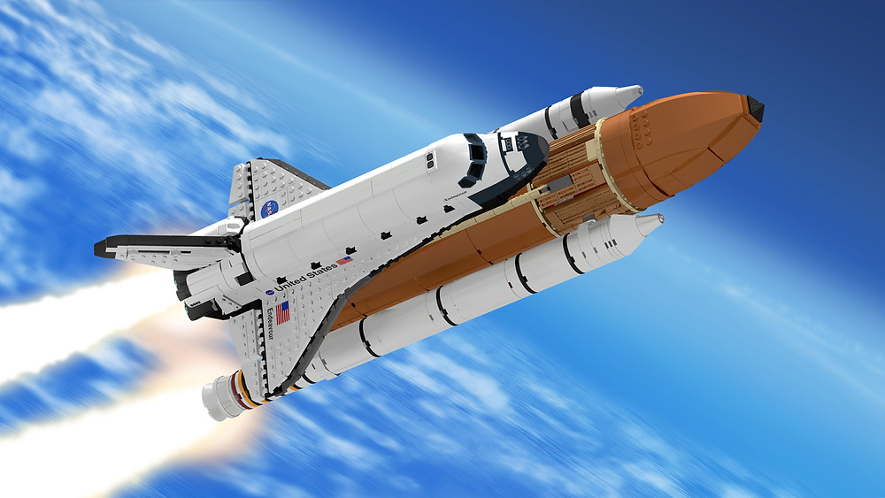 Space Shuttle, boosters, astronaut, space flight