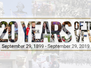 September 29: 120 Anniversary of VFW