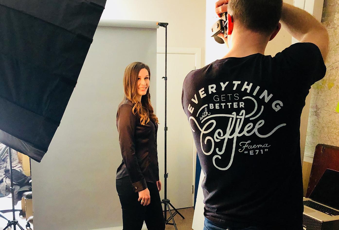 Portrait shoot with Scott Bentley