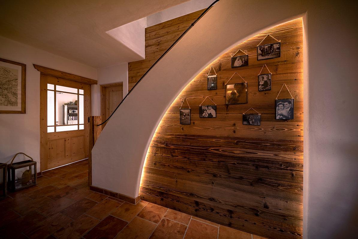 Wandverkleidung Altholz