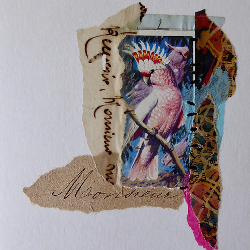 Paper Collage Card