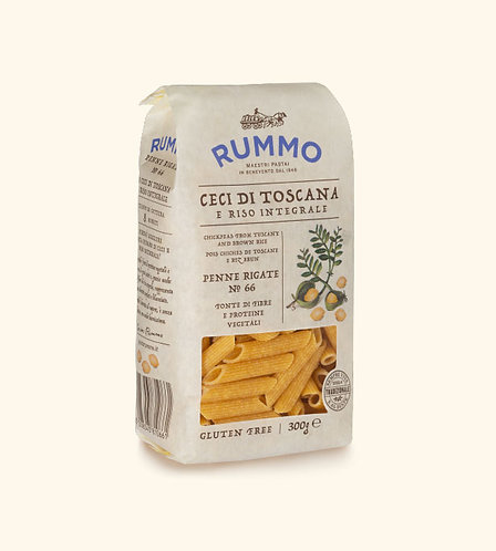 PENNE MADE FROM ITALIAN CHICKPEAS | Rummo